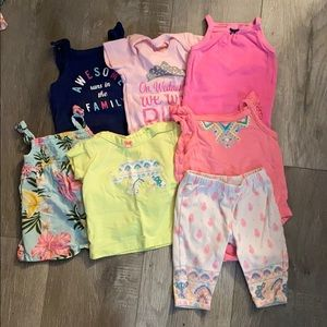 Lot of 3 Month Summer/Spring Tops